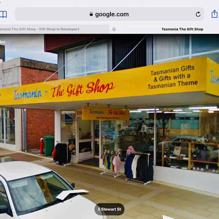 Tasmania The Gift Shop