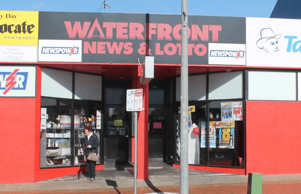 Waterfront News & Lotto