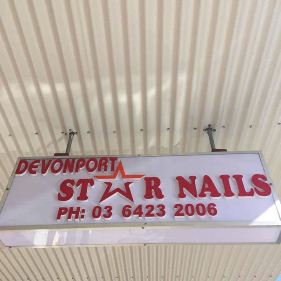 Star Nails Visit Devonport